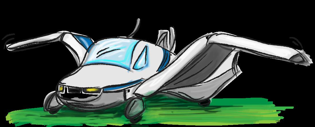 De vliegende auto