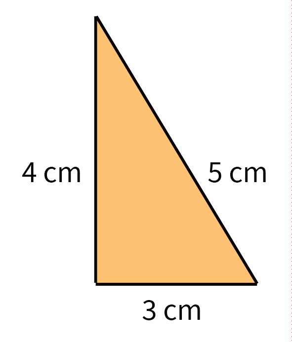 driehoek, rechthoekig, negentig graden hoek, 90 graden hoek, omtrek