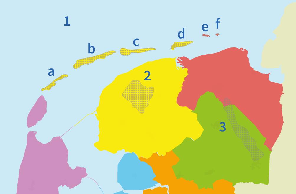 junior einstein, gebieden, regio's, oefenen, noord, nederland