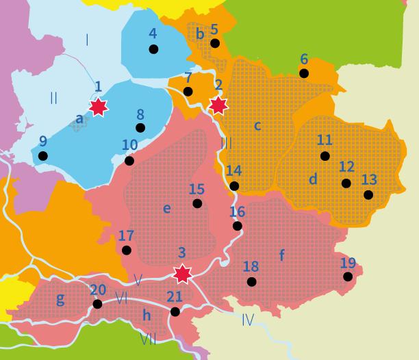 topo, topografie, steden, Nederland, Oost-Nederland, Junior Einstein, Overijssel, Flevoland, Gelderland, wateren, gebieden, natuurgebieden, steden, plaatsen, aardrijkskunde