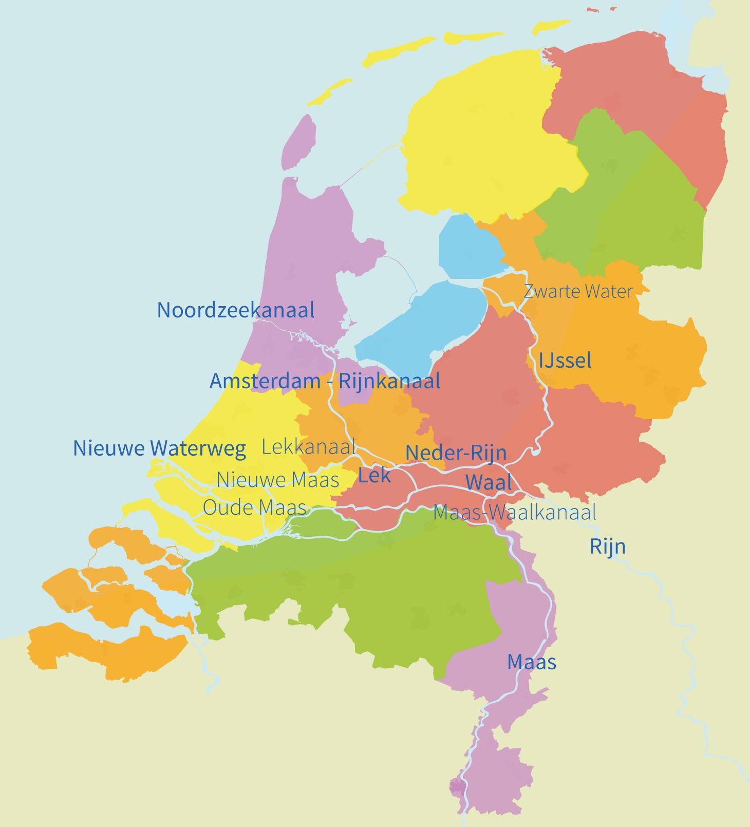 Junior Einstein, oefenen, wateren, rivieren, kanalen, topografie, nederland