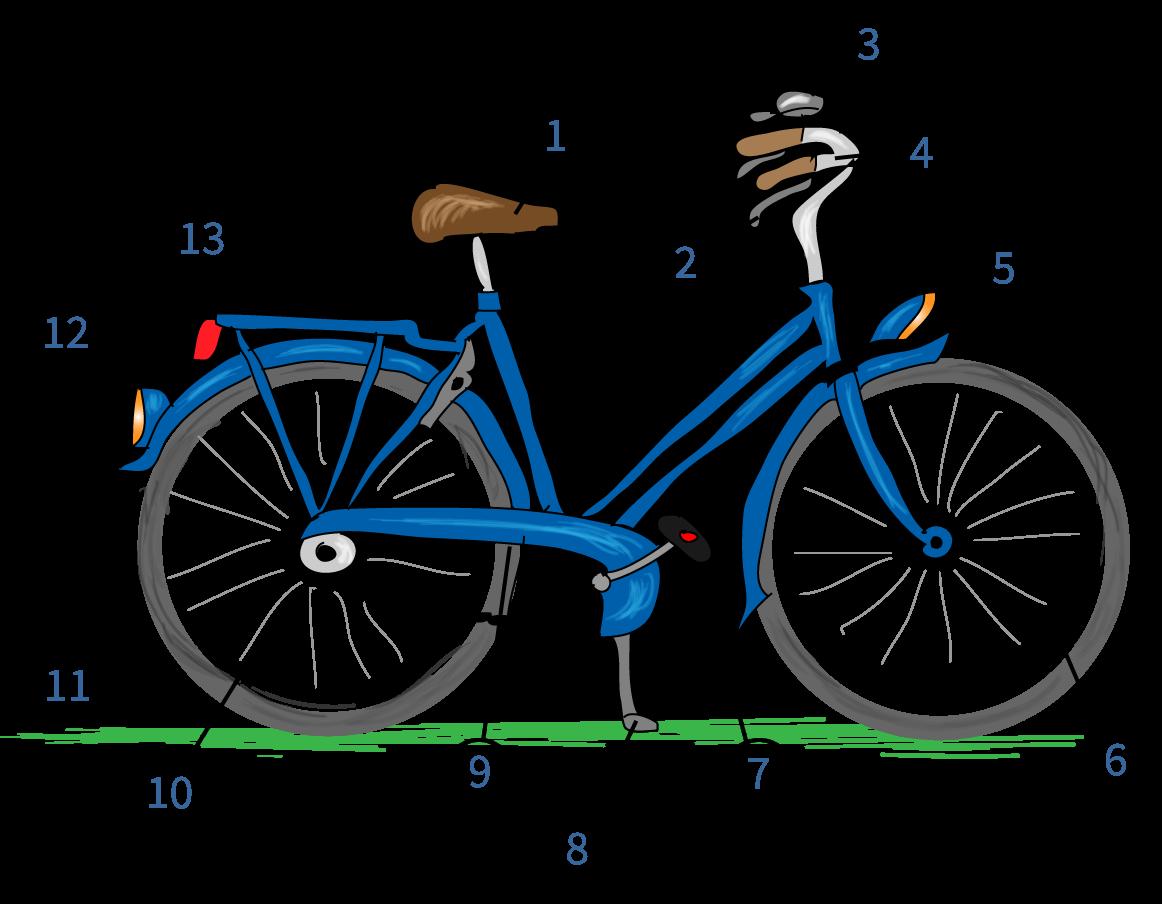 Een veilige fiets, online verkeer oefenen, verkeersexamen, Junior Einstein