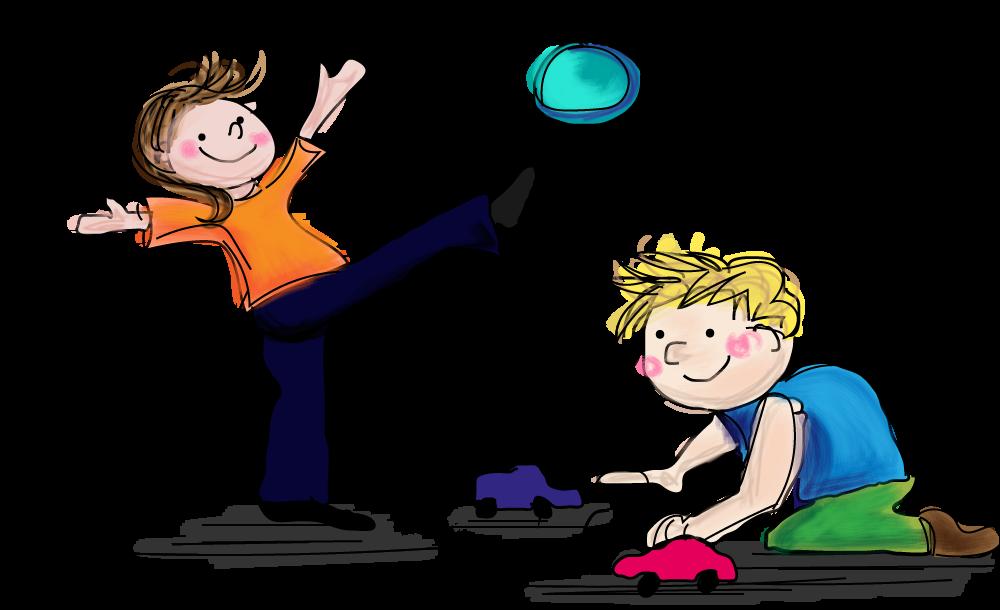 Spelen in het verkeer, veilig, online oefenen, groep 2