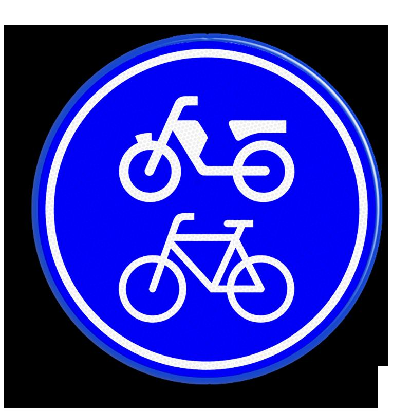 Verplicht (brom)fietspad