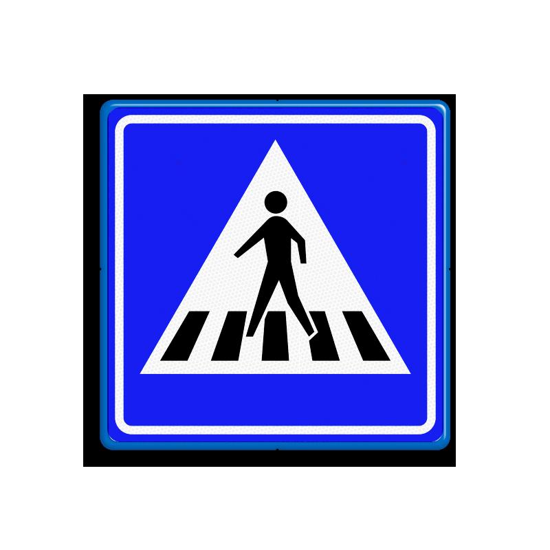 Hier is een zebrapad, online verkeersborden oefenen, groep 7