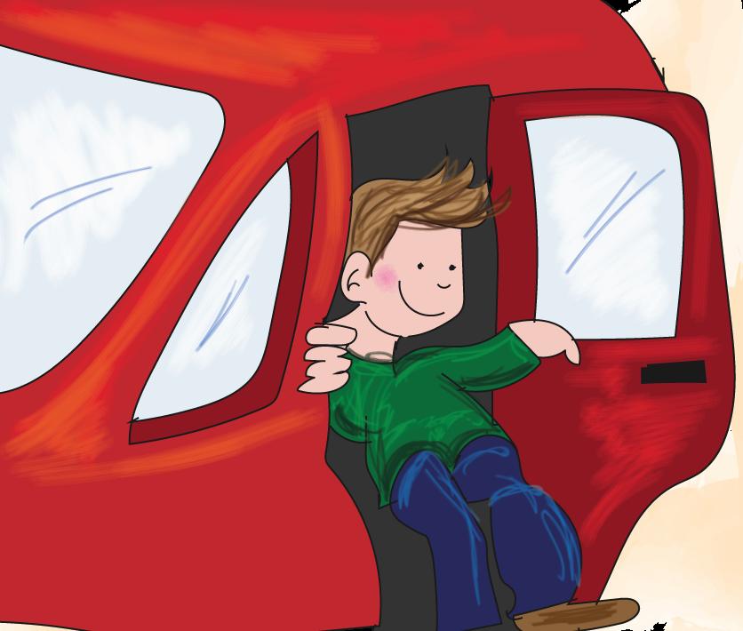 veilig meerijden in de auto, online verkeer oefenen, groep 5