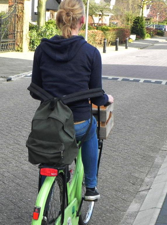 Hoe neem je bagage mee op de fiets