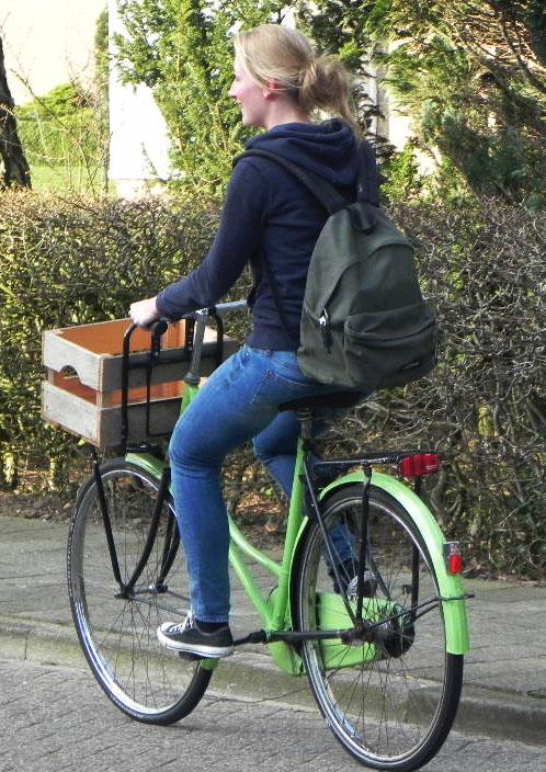 Bagage meenemen op de fiets, verkeer oefenen, groep 7