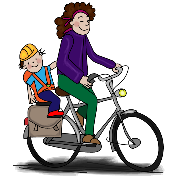 Veilig meerijden op de fiets, online verkeer oefenen