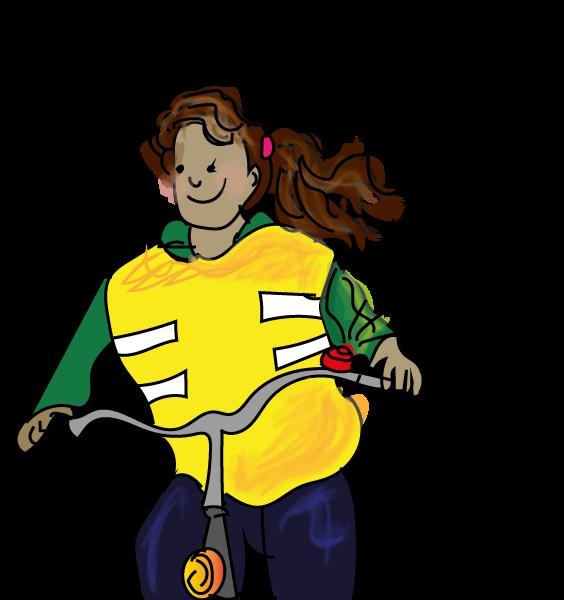 Bellen op de fiets, wanneer bellen, online verkeer oefenen, groep 7