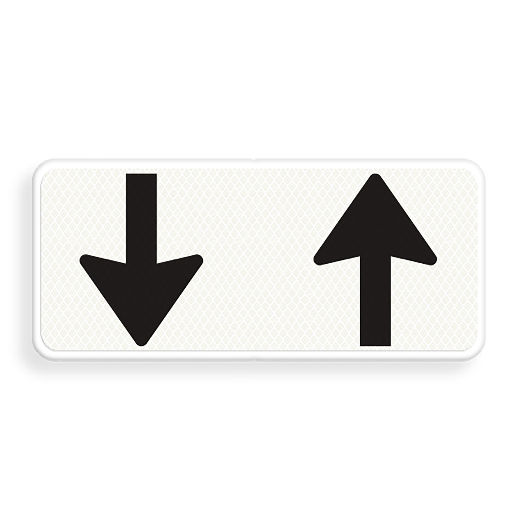 Onderbord tegenliggers, online verkeersborden oefenen
