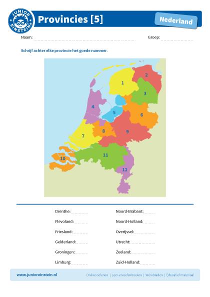 Uitgelezene Provincies in Nederland [5] AE-72